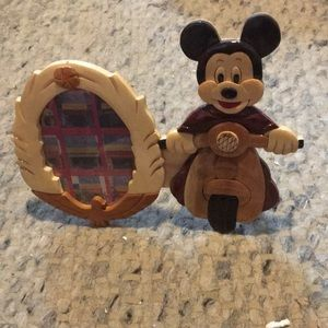 Mickey Mouse Wood Photo Frame